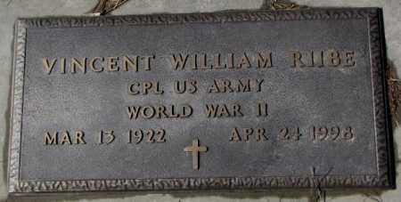 RIIBE, VINCENT WILLIAM (WW II) - Cedar County, Nebraska | VINCENT WILLIAM (WW II) RIIBE - Nebraska Gravestone Photos