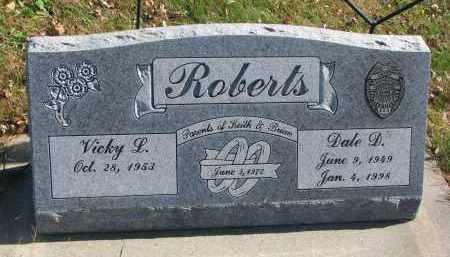 ROBERTS, VICKY L. - Cedar County, Nebraska | VICKY L. ROBERTS - Nebraska Gravestone Photos