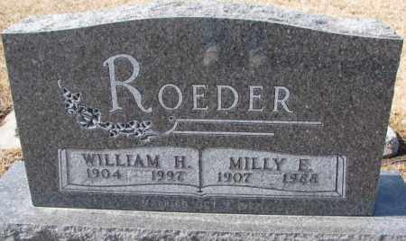 "KRAMER ROEDER, EMILY E. ""MILLY"" - Cedar County, Nebraska | EMILY E. ""MILLY"" KRAMER ROEDER - Nebraska Gravestone Photos"