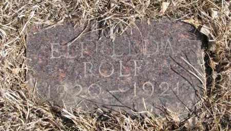 ROLF, ELFREEDA - Cedar County, Nebraska   ELFREEDA ROLF - Nebraska Gravestone Photos