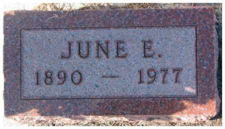 ROSSITER, JUNE E. - Cedar County, Nebraska | JUNE E. ROSSITER - Nebraska Gravestone Photos