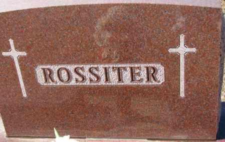 ROSSITER, PLOT - Cedar County, Nebraska   PLOT ROSSITER - Nebraska Gravestone Photos