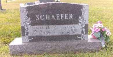 SCHAEFER, EVELYN - Cedar County, Nebraska | EVELYN SCHAEFER - Nebraska Gravestone Photos