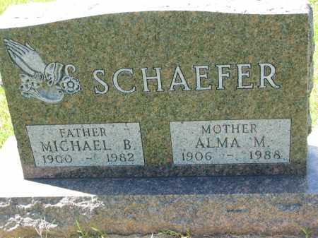 SCHAEFER, ALMA  M - Cedar County, Nebraska | ALMA  M SCHAEFER - Nebraska Gravestone Photos