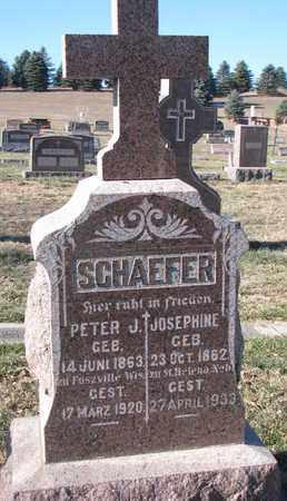 SCHAEFER, JOSEPHINE - Cedar County, Nebraska | JOSEPHINE SCHAEFER - Nebraska Gravestone Photos