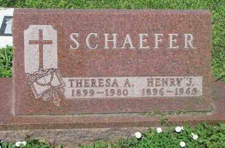 SCHAEFER, THERESA A. - Cedar County, Nebraska   THERESA A. SCHAEFER - Nebraska Gravestone Photos