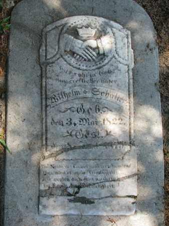 SCHALLER, WILHELM - Cedar County, Nebraska   WILHELM SCHALLER - Nebraska Gravestone Photos