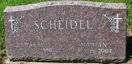SCHEIDEL, MARIAN - Cedar County, Nebraska | MARIAN SCHEIDEL - Nebraska Gravestone Photos