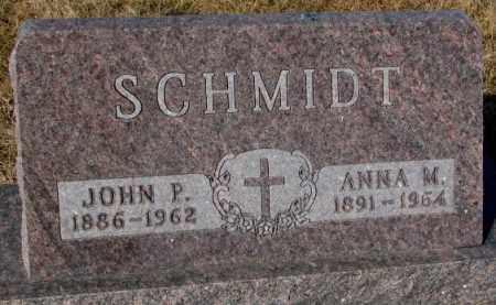 SCHMIDT, JOHN P. - Cedar County, Nebraska | JOHN P. SCHMIDT - Nebraska Gravestone Photos
