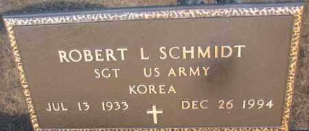 SCHMIDT, ROBERT L. (MILITARY) - Cedar County, Nebraska | ROBERT L. (MILITARY) SCHMIDT - Nebraska Gravestone Photos