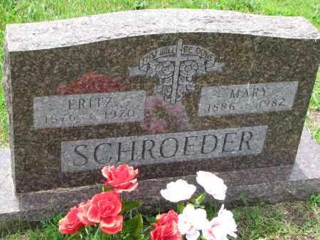 SCHROEDER, MARY - Cedar County, Nebraska | MARY SCHROEDER - Nebraska Gravestone Photos