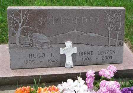 SCHROEDER, HUGO J. - Cedar County, Nebraska | HUGO J. SCHROEDER - Nebraska Gravestone Photos