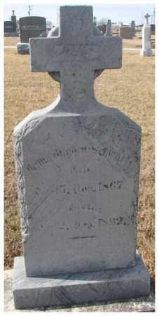SCHWARTZ, JENNY ? - Cedar County, Nebraska | JENNY ? SCHWARTZ - Nebraska Gravestone Photos