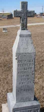 SCHWERS, JOSEPHINA - Cedar County, Nebraska | JOSEPHINA SCHWERS - Nebraska Gravestone Photos