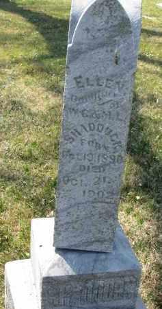 SHADDUCK, ELLEN - Cedar County, Nebraska | ELLEN SHADDUCK - Nebraska Gravestone Photos