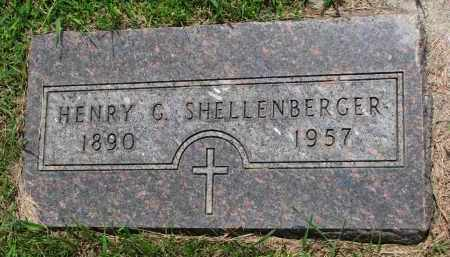 SHELLENBERGER, HENRY G. - Cedar County, Nebraska | HENRY G. SHELLENBERGER - Nebraska Gravestone Photos