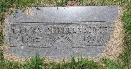 SHELLENBERGER, LILLIAN - Cedar County, Nebraska | LILLIAN SHELLENBERGER - Nebraska Gravestone Photos