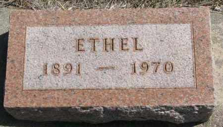 SINKEY, ETHEL - Cedar County, Nebraska | ETHEL SINKEY - Nebraska Gravestone Photos