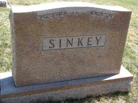 SINKEY, FAMILY STONE - Cedar County, Nebraska   FAMILY STONE SINKEY - Nebraska Gravestone Photos