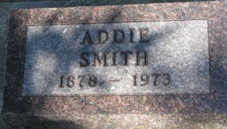 SMITH, ADDIE - Cedar County, Nebraska | ADDIE SMITH - Nebraska Gravestone Photos