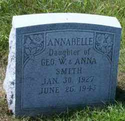 SMITH, ANNABELLE - Cedar County, Nebraska | ANNABELLE SMITH - Nebraska Gravestone Photos