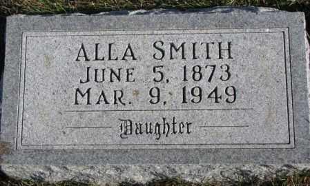 SMITH, ALLA - Cedar County, Nebraska | ALLA SMITH - Nebraska Gravestone Photos