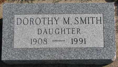 SMITH, DOROTHY M. - Cedar County, Nebraska   DOROTHY M. SMITH - Nebraska Gravestone Photos