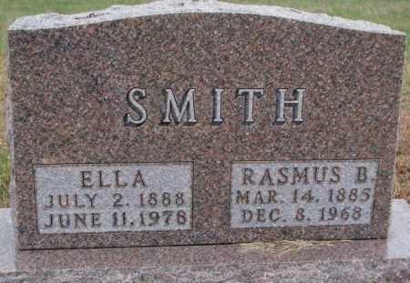 SMITH, RASMUS B. - Cedar County, Nebraska | RASMUS B. SMITH - Nebraska Gravestone Photos