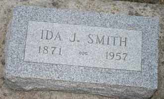 SMITH, IDA J - Cedar County, Nebraska | IDA J SMITH - Nebraska Gravestone Photos