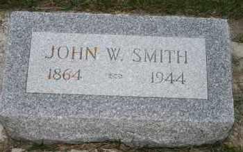 SMITH, JOHN W - Cedar County, Nebraska | JOHN W SMITH - Nebraska Gravestone Photos