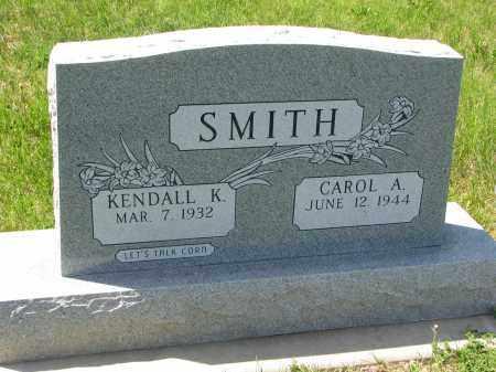 SMITH, CAROL A. - Cedar County, Nebraska | CAROL A. SMITH - Nebraska Gravestone Photos