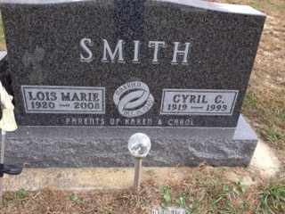 SMITH, LOIS MARIE - Cedar County, Nebraska | LOIS MARIE SMITH - Nebraska Gravestone Photos
