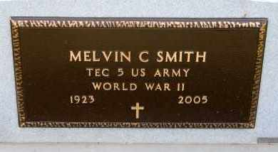 SMITH, MELVIN C - Cedar County, Nebraska | MELVIN C SMITH - Nebraska Gravestone Photos