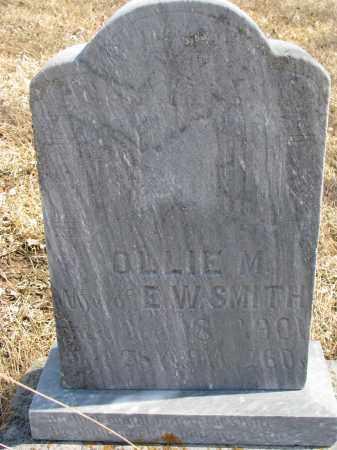 SMITH, OLLIE M. - Cedar County, Nebraska | OLLIE M. SMITH - Nebraska Gravestone Photos