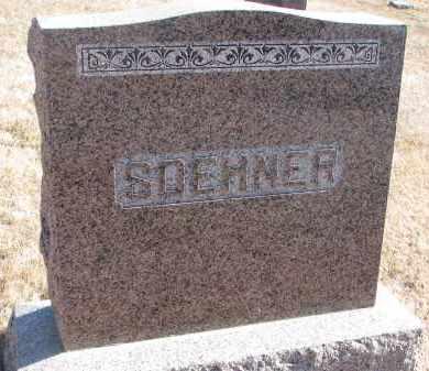 SOEHNER, FAMILY STONE - Cedar County, Nebraska | FAMILY STONE SOEHNER - Nebraska Gravestone Photos