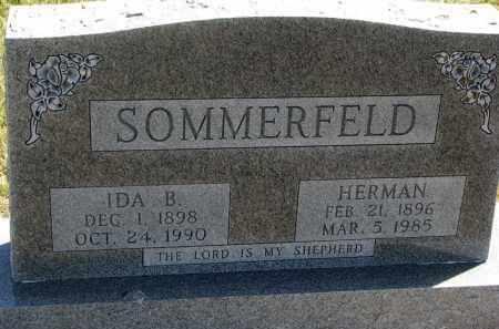 SOMMERFELD, IDA B. - Cedar County, Nebraska | IDA B. SOMMERFELD - Nebraska Gravestone Photos