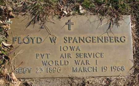 SPANGENBERG, FLOYD W. (WW I) - Cedar County, Nebraska | FLOYD W. (WW I) SPANGENBERG - Nebraska Gravestone Photos