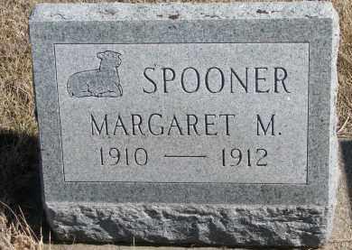 SPOONER, MARGARET M. - Cedar County, Nebraska   MARGARET M. SPOONER - Nebraska Gravestone Photos