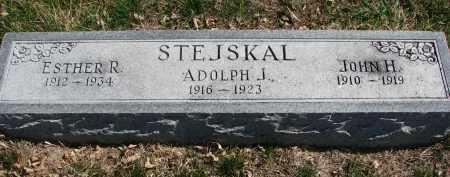 STEJSKAL, ADOLPH J. - Cedar County, Nebraska | ADOLPH J. STEJSKAL - Nebraska Gravestone Photos