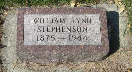 STEPHENSON, WILLIAM LYNN - Cedar County, Nebraska   WILLIAM LYNN STEPHENSON - Nebraska Gravestone Photos