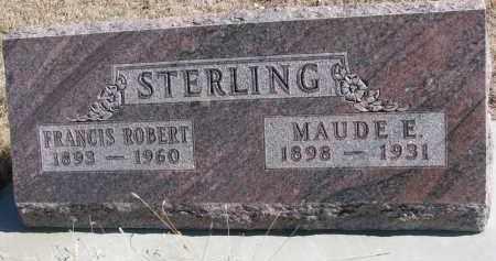 STERLING, FRANCIS ROBERT - Cedar County, Nebraska | FRANCIS ROBERT STERLING - Nebraska Gravestone Photos