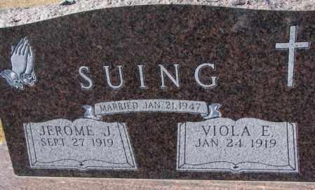 SUING, VIOLA E. - Cedar County, Nebraska   VIOLA E. SUING - Nebraska Gravestone Photos