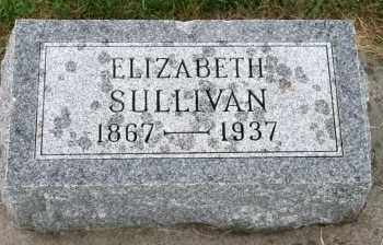 SULLIVAN, ELIZABETH - Cedar County, Nebraska | ELIZABETH SULLIVAN - Nebraska Gravestone Photos