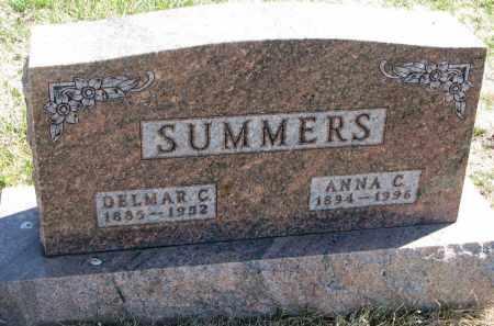 SUMMERS, DELMAR C. - Cedar County, Nebraska | DELMAR C. SUMMERS - Nebraska Gravestone Photos