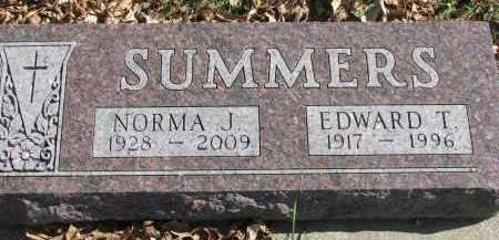 SUMMERS, NORMA J. - Cedar County, Nebraska | NORMA J. SUMMERS - Nebraska Gravestone Photos