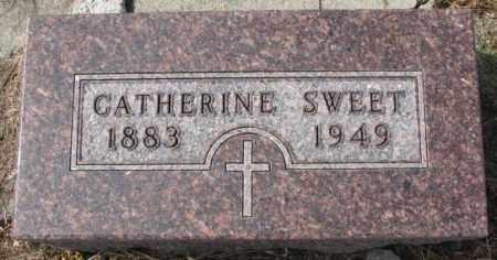 SWEET, CATHERINE - Cedar County, Nebraska   CATHERINE SWEET - Nebraska Gravestone Photos
