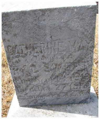 SWEET, CATHERINE MAY - Cedar County, Nebraska | CATHERINE MAY SWEET - Nebraska Gravestone Photos