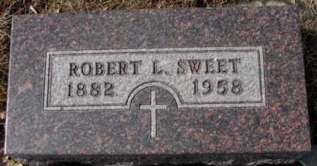 SWEET, ROBERT L. - Cedar County, Nebraska   ROBERT L. SWEET - Nebraska Gravestone Photos