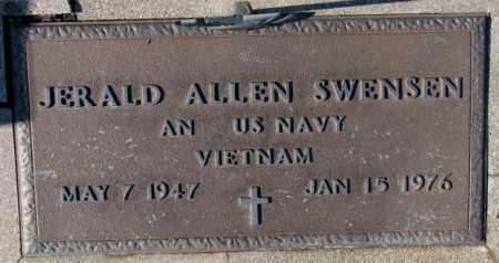 SWENSEN, JERALD ALLEN - Cedar County, Nebraska | JERALD ALLEN SWENSEN - Nebraska Gravestone Photos