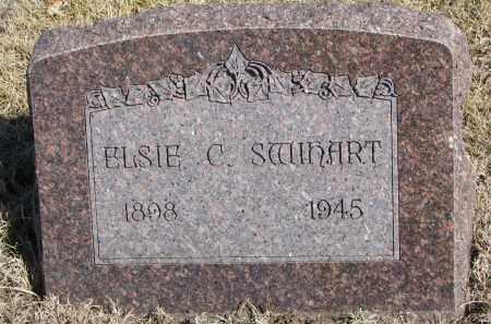 SWIHART, ELSIE C. - Cedar County, Nebraska   ELSIE C. SWIHART - Nebraska Gravestone Photos
